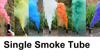 COLOURFUL RING PULL Smoke Tube Bomb Effect Show Background