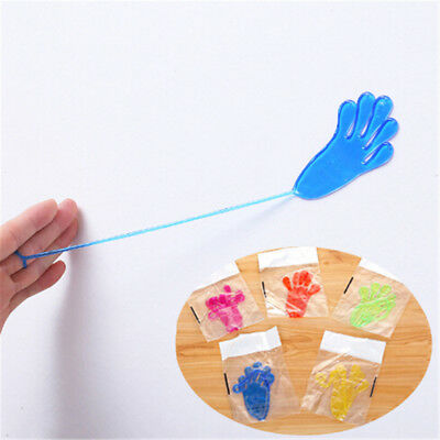 5pcs Elastic Sticky Squeeze Slap Hands Palm Toy Children Kid Party Favor Gift GN