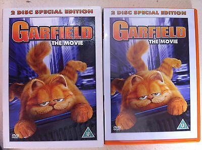 Garfield DVD 2004 Fat Cat Family Feature Film Movie 2-Disc Edition w/ Slipcover