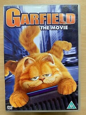Garfield DVD 2004 Fat Cat Family Feature Film Movie with Bill Murray