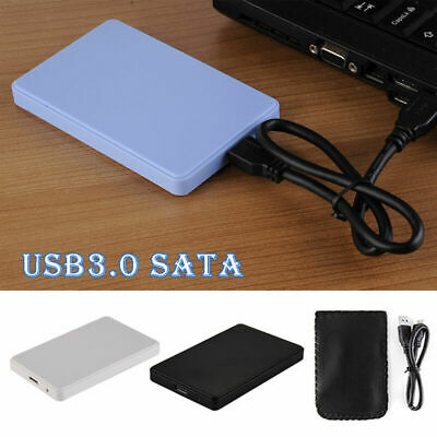 "USB 3.0 2.5"" SATA External Hard Drive Mobile Disk HD Enclosure/Case Box For PC"