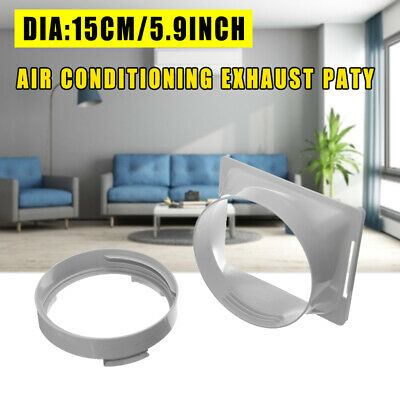 UK 1PC Exhaust Duct Interface Part For Dia 15cm Portable Air Conditioning Body