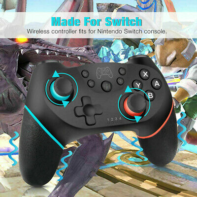 Wireless Bluetooth Game Controller Dual Vibration Gamepad For Nintend Switch Pro