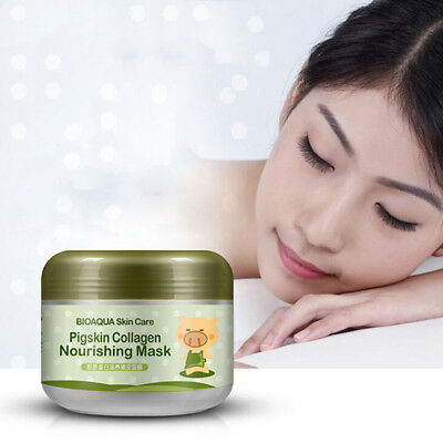 100g Korean Pig Leather Collagen Mask Anti Aging&Wrinkle Cream Magic Facial M~GN