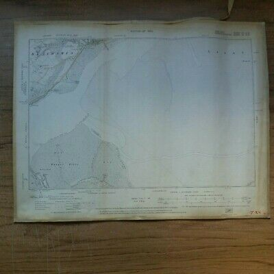 1920 Ordnance survey Map of Beaumaris, Anglesey, Carnarvonshire Wales No.9