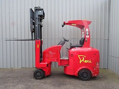 FLEXI EURO 2000Kg. USED ARTICULATED ELECTRIC FORKLIFT TRUCK. (#2532)