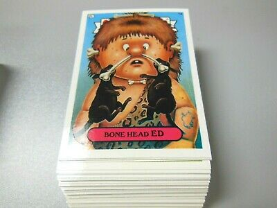 2003  03  Garbage Pail Kids GPK  ANS  Series 1  Complete Set lot  80 cards Mint!