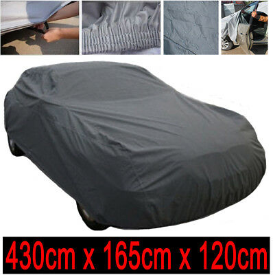 Car Cover All Weather Protection 2 Layer Waterproof Outdoor Heavy Duty 4.5Kg - M