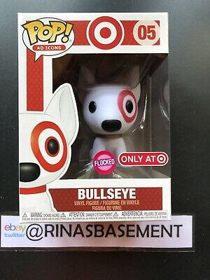 Make an offerDAMAGED BOX Funko Pop Ad Icons 05 Bullseye Flocked Target Exclusive