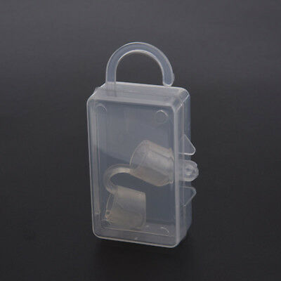 anti snoring silicon free nose clip snore stopper device health sleeping aid~GN