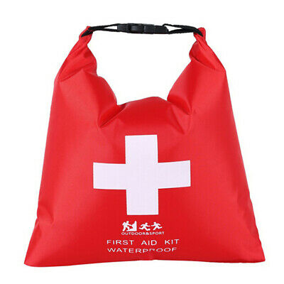 1.2L waterproof portable first aid kit bag only for outdoor travel emergency~GN