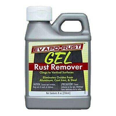 Evapo-Rust 236ml Gel Rust Remover Removes Metal Oxides Cast Iron Steel And More