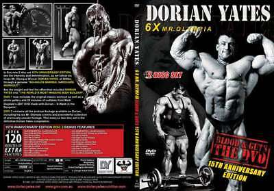 DORAN YATES Blood and Guts DVD - 15th Anniv. Edition 1st Hardcore BBing DVD ever