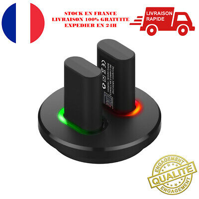 Chargeur Manette XBOX ONE Double Station Recharge 2 Batterie Alimentation USB
