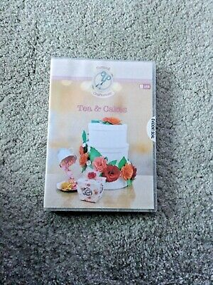 Cutting Craftorium USB Tea and Cakes with Instruction Booklet