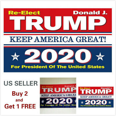 3x5 Ft Trump 2020 Keep America Great President Donald MAGA Flag US Blue & Red