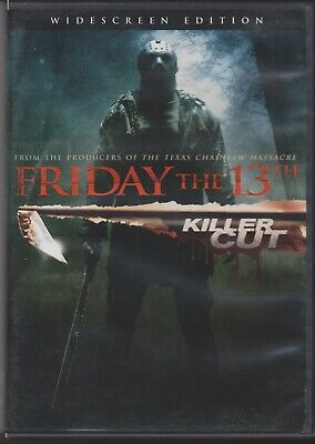 Friday the 13th (DVD, 2009, Extented Killer Cut)