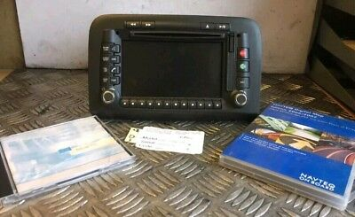 735419921 Navigation System Satellite Fiat Croma With Discs And Code