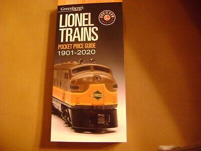 2020 Edition Greenberg's Lionel Trains Pocket Price Guide 1901-2020