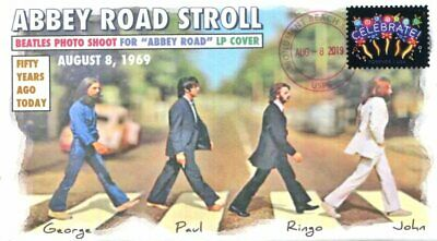 """COVERSCAPE computer designed 50th anniversary """"Abbey Road"""" LP photoshoot cover"""