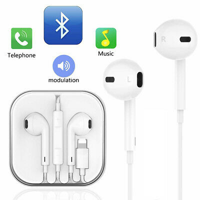 High Quality Earphones Earbuds For iPhone XS Max XR 8 7s 7 Plus Bluetooth