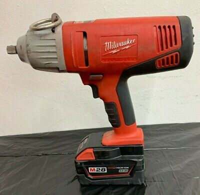 Milwaulkee Cordless 28v  1/2 inch Impact Wrench (Model HD28 IW)