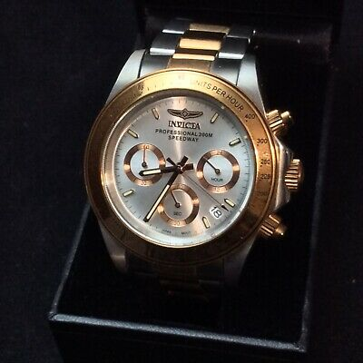 Invicta Professional 200M Speedway  Men's Chronograph Two Tone