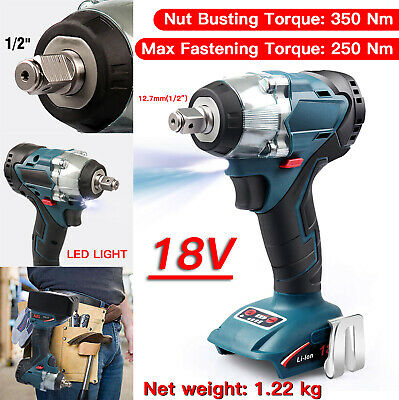 """Replace For Makita 18V Li-ion  Brushless Cordless 1/2"""" Impact Wrench Body Only"""