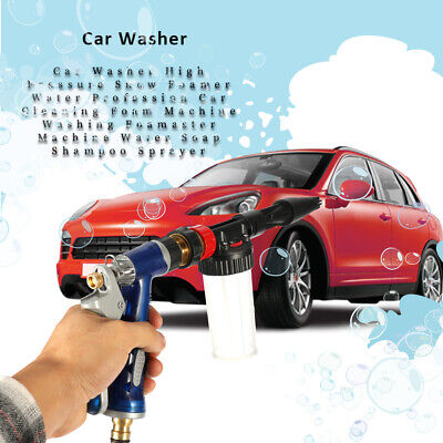 Car Washer High Pressure Snow Foamer Cleaning Foam Machine Soap Sprayer P5Q4