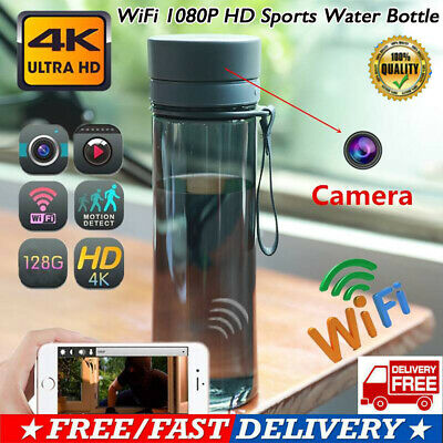 WiFi 1080P HD Sports Water Bottle Hidden Spy Camera Video Recorder Cup Acces