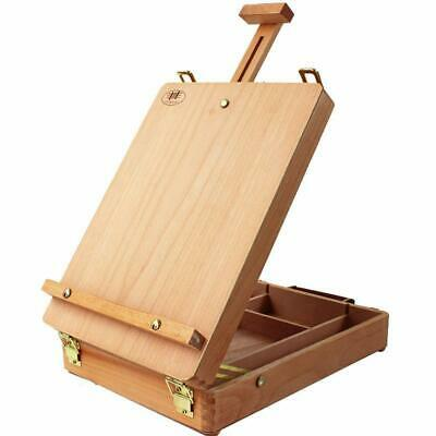 Adjustable French Easel Artist Wooden Table Sketch Case Floor Easel Art Painters