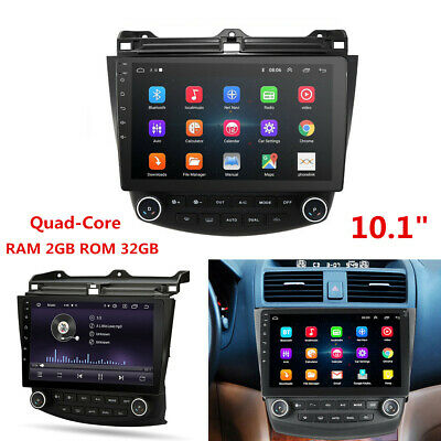 "Android 9.1 10.1"" Car Stereo Radio Wifi GPS Navigation for Honda Accord 2003-07"