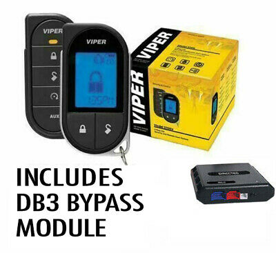 Viper 5706V Car Remote Start & Alarm Dball2 Bypass 1-Mile Range 2-Way Lcd Remote