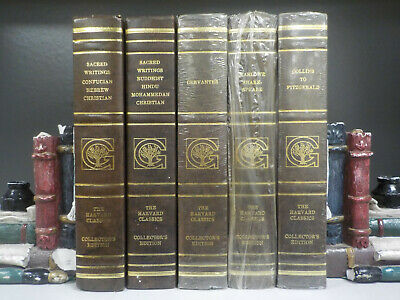 The Harvard Classics Collector's Editions (1980) - 5 Books Collection! (ID:5665)
