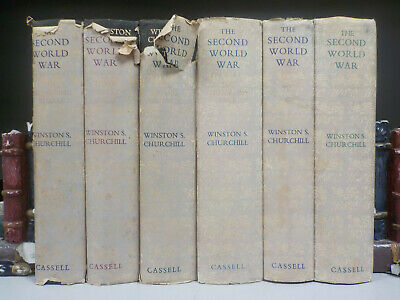 Winston Churchill - The Second World War - 1st Editions - 6 Books (ID:5671)
