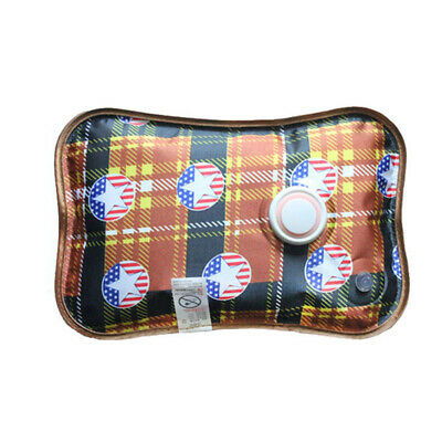 1 Set Rechargeable Electric Hot Water Bottle Hand Warmer Heater Bag for Winter