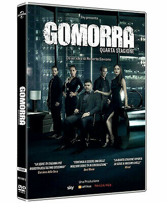 GOMORRA 4 - QUARTA STAGIONE (4 DVD) SERIE TV CULT con Lingua Italiana