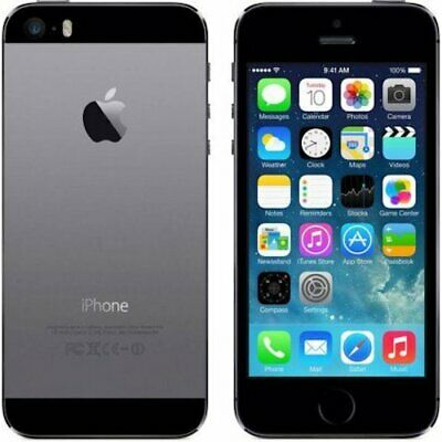 Apple iPhone 5S 16GB Space Gray LTE Cellular Koodo IP5S-16GB-Space Gray-Koodo