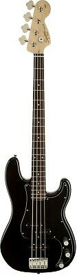 Squier Affinity Series Precision PJ Electric Bass Guitar - Black