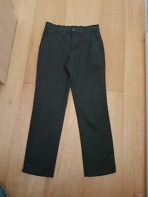 Next boys grey jean style school trousers. Age 11