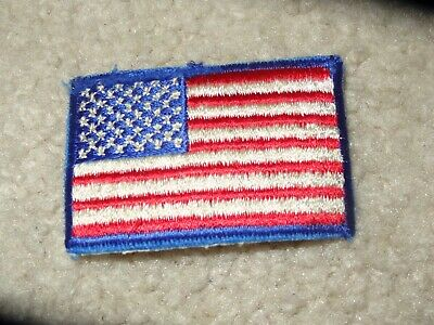 Boy Scout United States American Flag Uniform 2019 World Jamboree Traded Patch