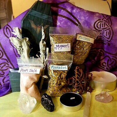 DEVILS SHOE STRING Oil Protection Herb Money Luck Voodoo