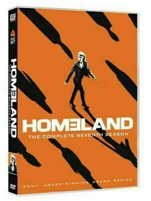 Homeland: The Complete Seventh Season 7 (DVD, 2018, 4-Disc Set) NEW