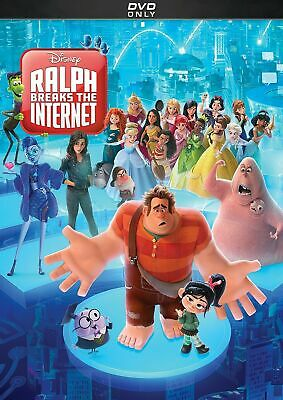 Ralph Breaks The Internet (DVD, 2019) New & Sealed w/ Slipcover FREE Shipping!