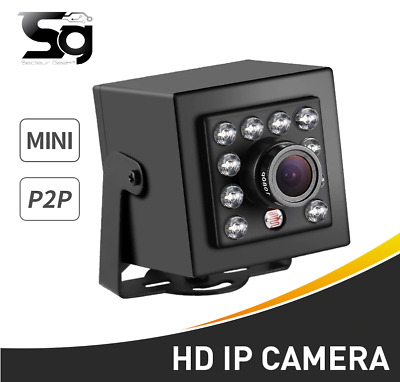 Mini camera HD 2.8 mm Grand Angle 1080P 25fps IP ONVIF P2P vision nocturne