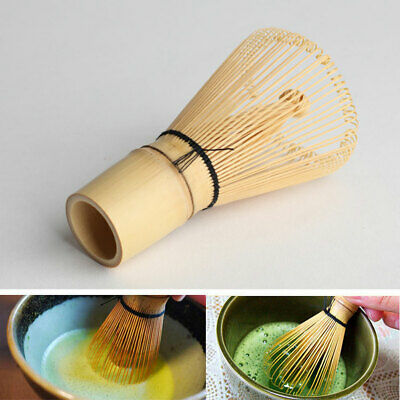 Ceremony Bamboo Chasen Japanese Powder Whisk Green Tea Preparing Matcha Brush AU