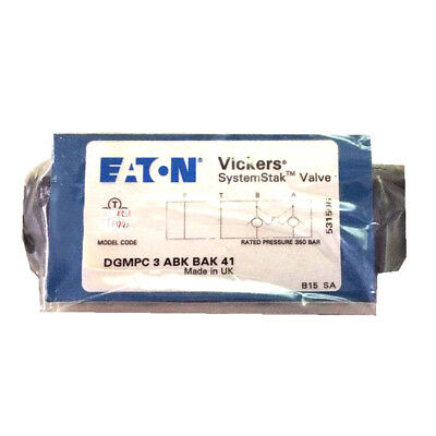 H● Vickers DGMPC-3-ABK-41 Hydraulic Check Valve New.