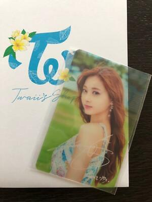 TWICE Twaii's Shop POPUP STORE TZUYU official transparent photocard