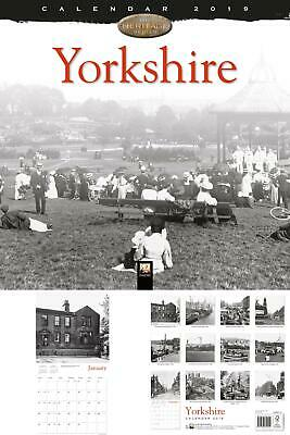 NEW Yorkshire Heritage Wall Calendar 2019 Art Calendar UK STOCK