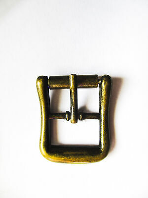 solid metal Buckles with roller fits 14.5mm straps for shoes, dolls, toys, cases